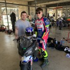 A young Killarney motorcycle racer has been getting tips from some of the best riders in the world ahead of the start of the 2020 Irish season.