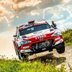 Breen moves in to third place in European Rally Championship after Rally Liepaja -Latvia
