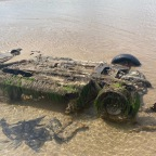 Can you identify this car on Inch Beach?