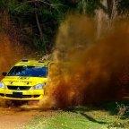 Kenmare co-driver leads Australian rally series