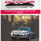Help wanted in sourcing old rally results