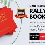 'Icons of Irish Rallying' Due in local stockists December 15*