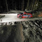 A tough day for  Irish crew  as they  drop from second to fourth – Hyundai Motorsport Arctic Rally Finland report