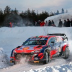 Breen and Nagle fourth in Arctic Rally Finland – full Hyundai Motorsport report – with photos