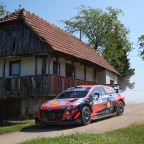 Croatia Rally –  news from the Hyundai camp and a look ahead to day two – timetable , driver quotes and more