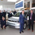 Divane Volkswagen awarded Volkswagen Commercial Vehicle Retailer of the Year 2020.