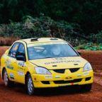 "THUNDER ROLLS- Western Australia's Forest Rally ""Wetter than an otter's pocket"""