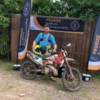 Colin O'Donoghue wins on debut motorcycle off-road race
