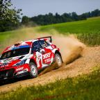 Breen second fastest through Sunday loop of Rally Poland while competing under RallyTwo rules