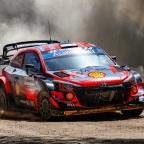 Rally Sardinia – Hyundai info – behind paywall tests