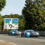 Fassbender joins official 24 Hour of Le Mans test