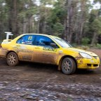 """O'Connell's """"mixed conditions and mixed fortunes"""" on the Western Australia's Karri Rally"""
