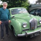67-year-old Austin A40 Somerset the star of Ballymac classic car run last Sunday