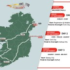 Cannonball is coming back to Kerry – Kenmare- Moll's Gap – Killarney – Tralee – Tarbert